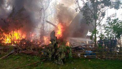 صورة الفلبين… ارتفاع حصيلة ضحايا تحطم الطائرة العسكرية إلى 45 قتيلا
