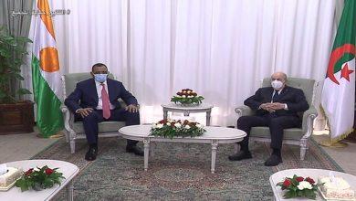 صورة زيارة الرئيس النيجري للجزائر تتوج بالإعلان عن إعادة فتح الحدود البرية