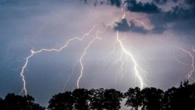 صورة أمطار رعدية على بعض ولايات الجنوب واستمرار موجة الحر على أخرى