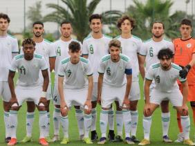 صورة المنتخب الجزائري لأقل من 20 سنة يواجه نظيره السعودي في النهائي مساء اليوم