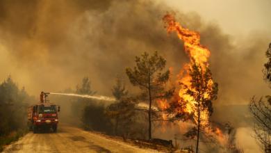 صورة الحماية المدنية لم تسجل  أي حريق هذا اليوم