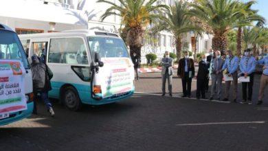 صورة مكافحة كورونا:  انطلاق قافلة مساعدات لفائدة مستشفيات العاصمة والبليدة