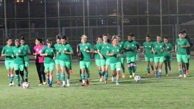 صورة مباراة حاسمة للجزائريات