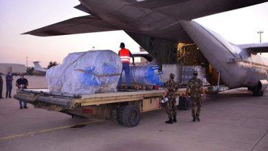 صورة وزارة الدفاع: جلب محطتين لتوليد الأكسجين من إيطاليا