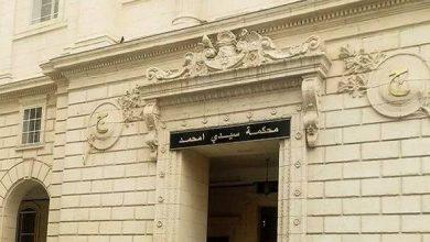 صورة مثول المشتبه فيهم بقتل جمال بن اسماعيل أمام محكمة سيدي امحمد