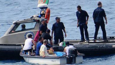 صورة إحباط محاولات هجرة غير شرعية لـ 128 شخصا