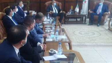 صورة بن بوزيد يلتقي برؤساء المجموعات البرلمانية