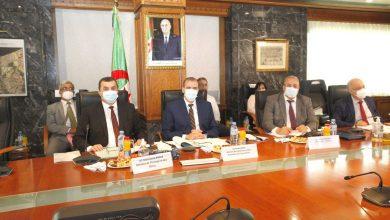 صورة انطلاق أشغال اجتماع اللجنة الافريقية للتجارة والصناعة والمعادن