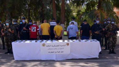 صورة توقيف 12 عنصر دعم للجماعات الإرهابية و37 تاجر مخدرات