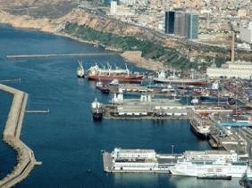 صورة استلام توسعة نهائي حاويات ميناء وهران شهر أكتوبر القادم