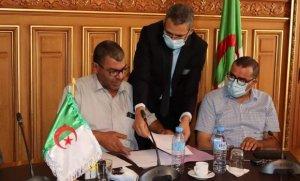 صورة تنصيب السيد شباب الطيب رئيسا جديدا للغرفة الجزائرية للتجارة والصناعة