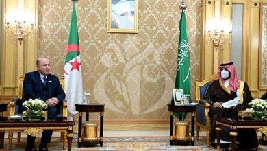 صورة بن عبد الرحمان يستقبل بالرياض من طرف ولي العهد نائب رئيس مجلس الوزراء وزير الدفاع السعودي