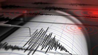 صورة زلزال بقوة 6 درجات في البحر المتوسط