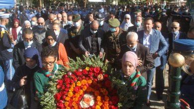 صورة في الذكرى 64 لوفاة البطل: تكريم أعضاء أسرة الشهيد علي لابوانت بمليانة