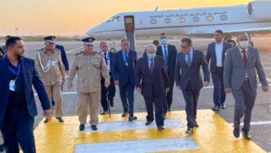 صورة لعمامرة يحل بطربلس للمشاركة في مؤتمر دعم الاستقرار في ليبيا