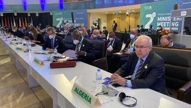 صورة انطلاق الاجتماع الوزاري الإفريقي – الأوروبي