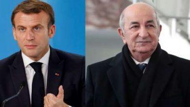 صورة ماكرون: أثق في الرئيس تبون وأكن احتراما كبيرا للشعب الجزائري