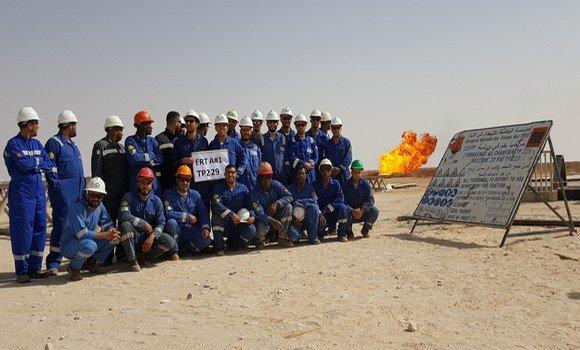 Photo de Sonatrach réalise une nouvelle découverte de gaz à condensat dans le bassin de Tindouf