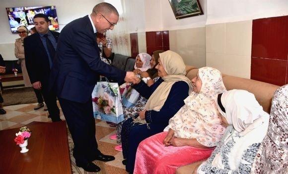 Photo de Alger: des logements sociaux pour les familles résidant dans des centres d'accueil