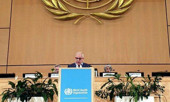 Photo de Santé : Miraoui met en avant depuis Genève les avancées réalisées par l'Algérie