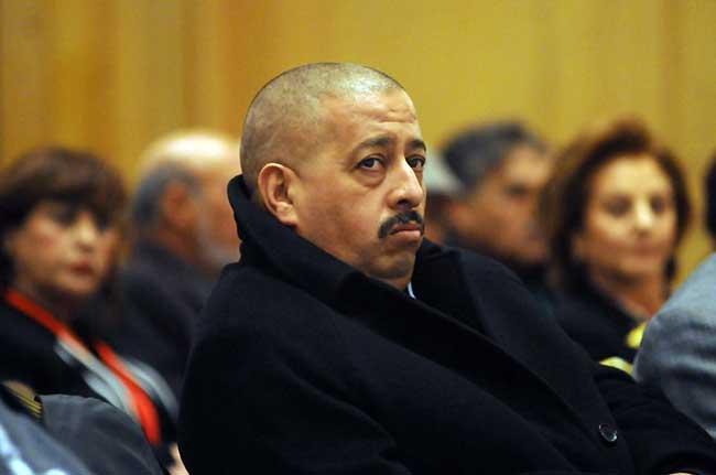 Photo de Mahieddine Tahkout et des membres de sa famille placés en détention provisoire