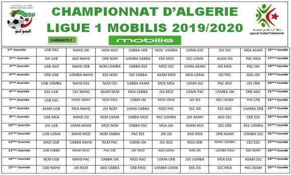 Photo de Ligue 1 de football 2019-2020 : le calendrier complet