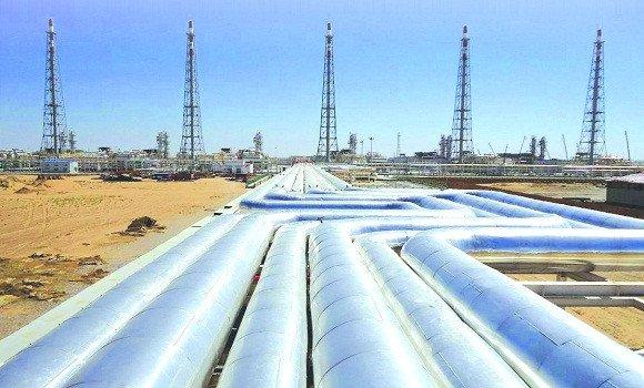 Photo de Entrée en service en été 2020 du projet d'extension du gazoduc kasdir-Beni-Saf