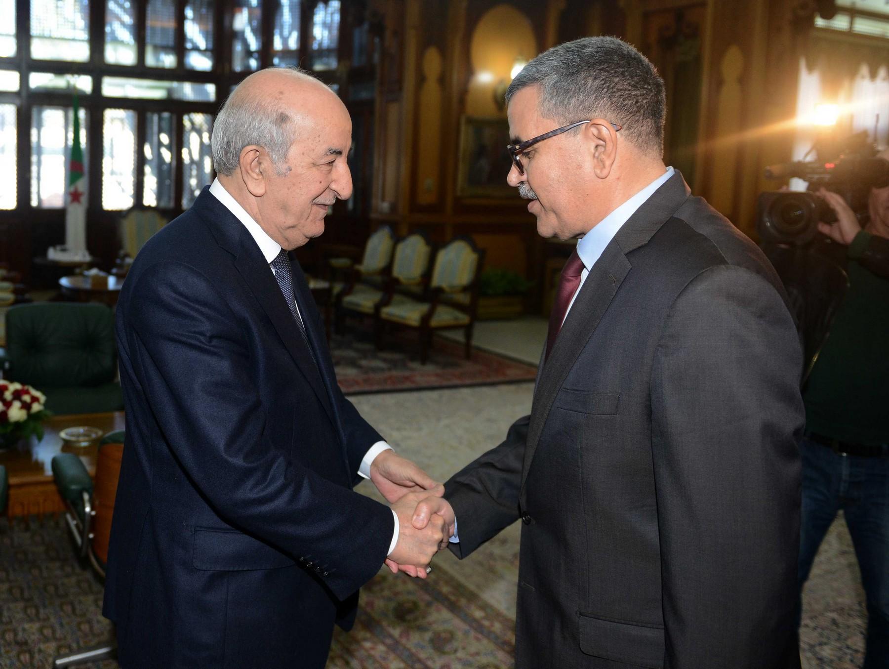 Photo de Le président Tebboune nomme Abdelaziz Djerad Premier ministre et le charge de former le gouvernement