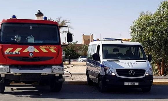 Photo de Tissemsilt: la police intervient pour sauver la vie d'un jeune qui a tenté de s'immoler