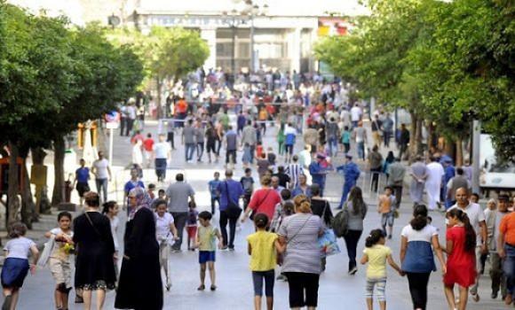 Photo de Démographie: 43,9 millions d'habitants en Algérie en janvier 2020