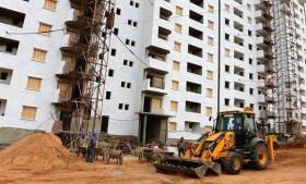 Photo de AADL de Khemis el khechna: reprise des travaux d'aménagement extérieu