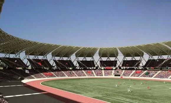 Photo de Gazonnière du stade d'Oran : une première dans les enceintes footballistiques africaines