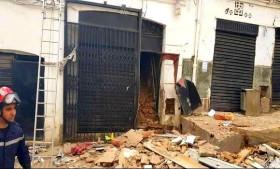 Photo de Alger: restauration prochaine de l'immeuble partiellement effondré à Hussein Dey