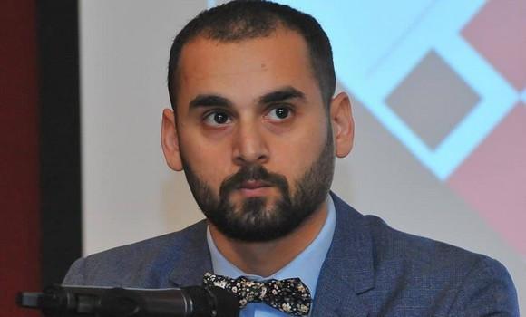 Photo de L'écrivain algérien Youcef Baâloudj lauréat du Bouclier d'argent de la créativité en Irak
