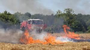 Photo de Lancement d'une campagne nationale de sensibilisation sur les incendies de récoltes