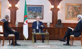 Photo de Président Tebboune : Le salut de la patrie, notre objectif